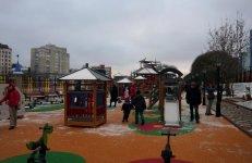 Детская площадка парка