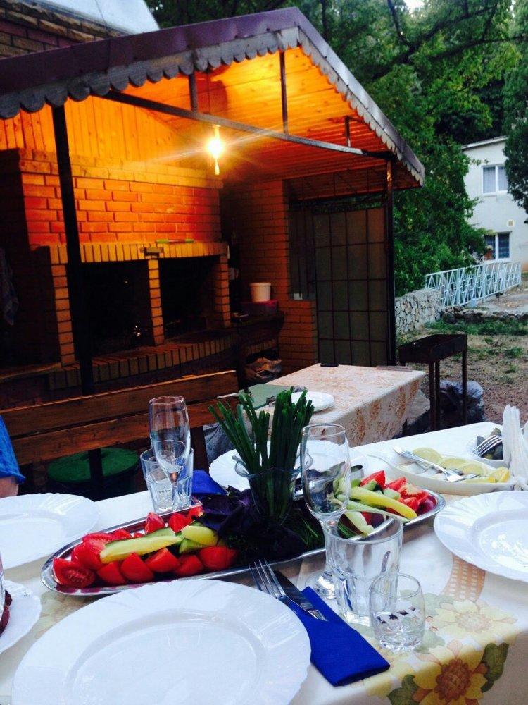 Барбекю в отеле