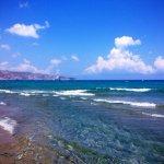 Вид на море с берега