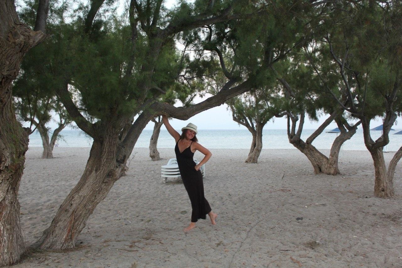 Собственно пляж