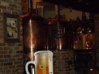 в Beer House своя пивоварня