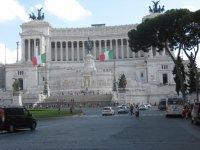 Площадь Венеции в Риме.