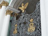 Элемент оформления парадных ворот