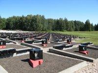 Хатынь. Кладбище сожженных деревень.