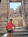 Людей на Акрополе всегда очень много