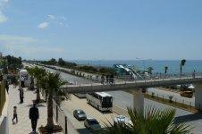 Вид на трассу и пляж