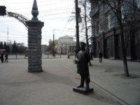 Вид на театр с улицы имени С.М. Кирова (пешеходной Кировки).