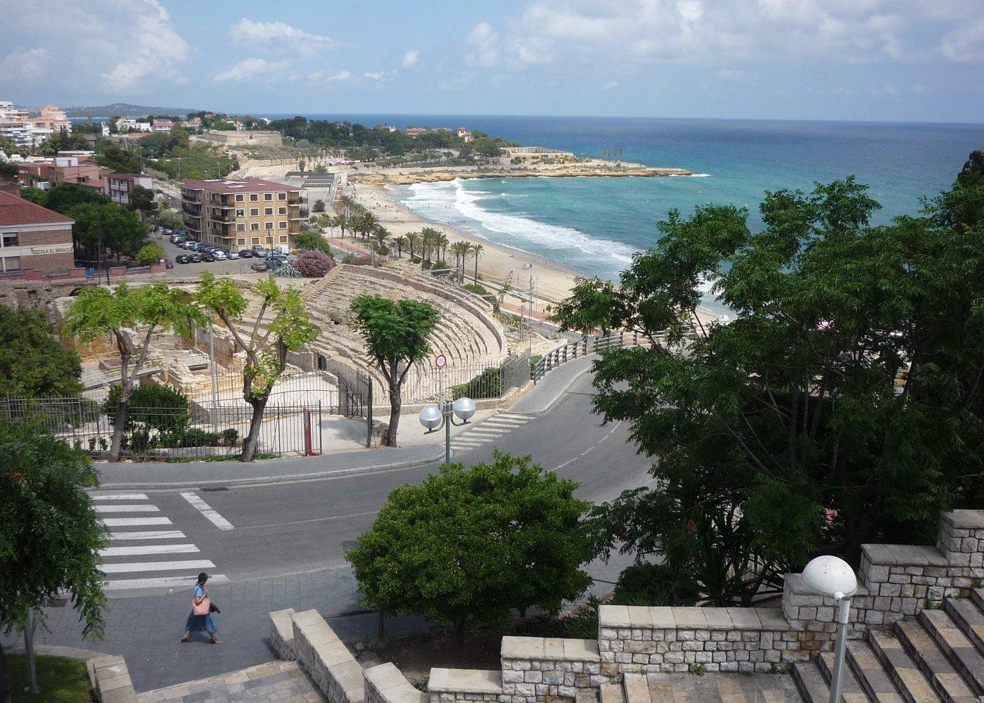 """Таррагона. Вид с """"Балкона Средиземноморья"""""""