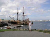 Корабль, на котором приплыл Колумб