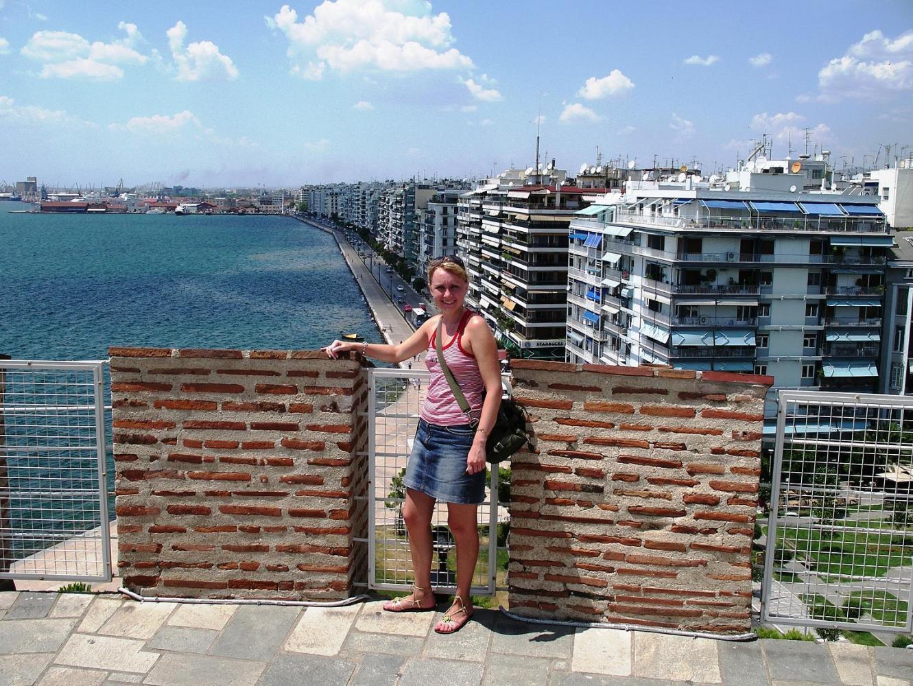 Вид на город с высоты башни