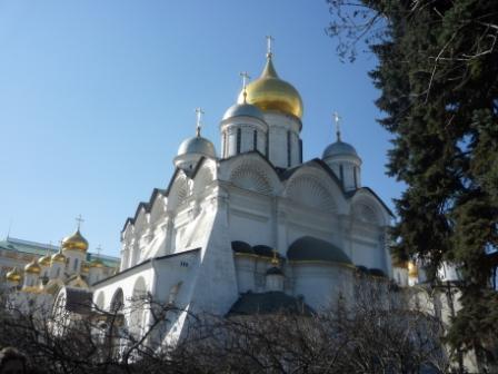 Вид на Архангельский собор