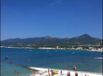 Вид на пляжи со стороны пляжа Кубики.