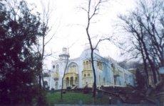 Бывший дворец эмира Бухарского на водах.