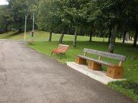 Поющая скамейка на Певческом поле