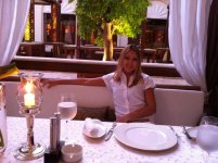 Русский ресторанчик на территории отеля