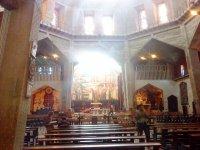 Внутри Храма Благовещения