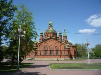 Здание церкви Александра Невского