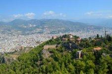 Вид на город и внешнюю крепость из Ич-кале