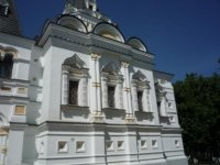 Отделка стен Елизаветинской церкви