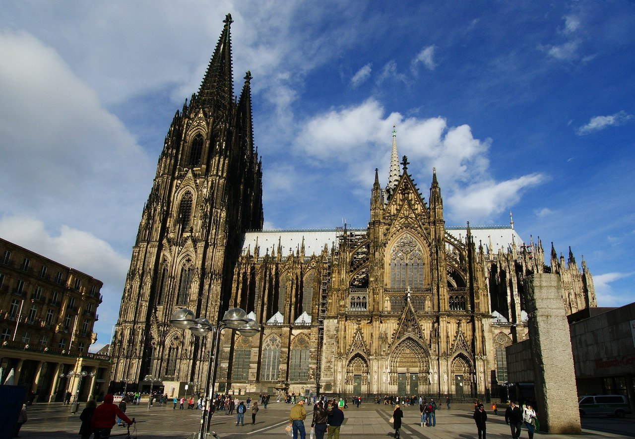 кельнский собор германия фото