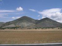 Горный пейзаж недалеко от Касторьи