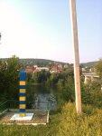 Вид на Отачь с украинской границы