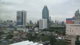 Вид с отеля на близлежащие здания