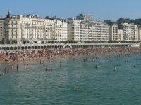 пляж Ла Конча