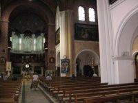 в костеле Св.Сымона и Алены (красный)