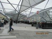 Площадь Гарибальди после реконструкции и ввода новой линии метро