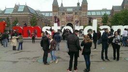 визитка Амстердама