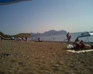 Пляж в Солнечной долине