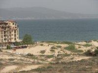 Песчаные дюны перед отелем