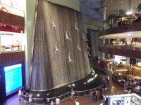 Фонтан в торговом центре