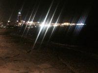 Ночной вид на чуть ли не единственный мальтийский небоскреб