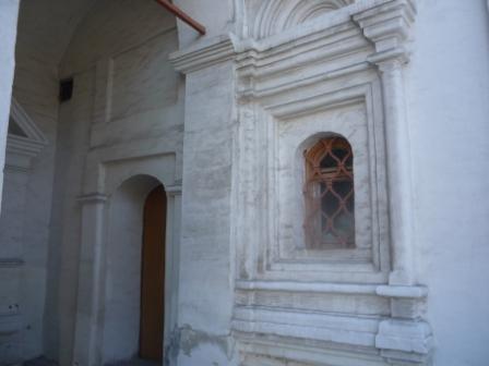 Задний вход в Патриарший дворец
