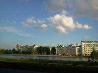 Вид на Петербург с Елагина острова