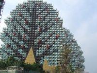 Дома-деревья из Майнкрафта