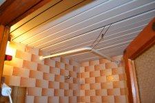 потолок в душевой