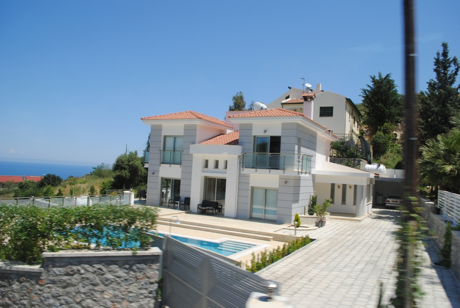 обычный дом на Северном Кипре