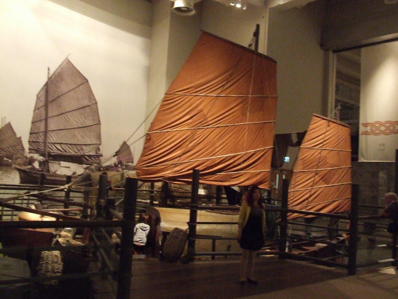 макет лодки