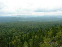 Панорама с Двуглавой сопки.