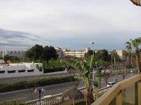 Вид с балкона отеля на город