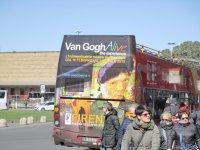 Экскурсионный автобус у вокзала Санта Мария Новелла