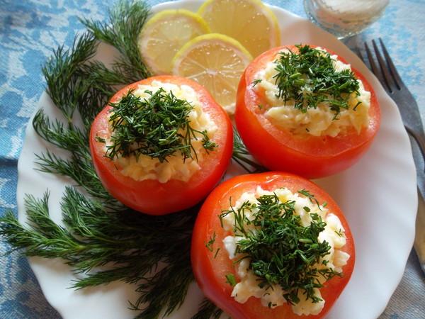 моя любимая помидоры фаршированные)ммм