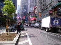На улице города