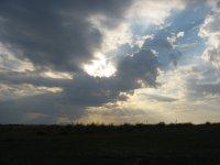 Небо над Казахстаном