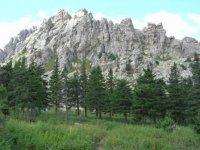 Откликной гребень с альпийских лугов.
