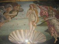 Флоренция.Галлерея Уффицы.Ботичелли.Венера.