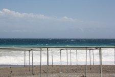 Пляж и буйное море